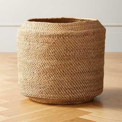 Twill Natural Basket - CB2