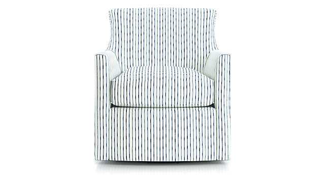 Clara Swivel Accent Chair - Crate and Barrel