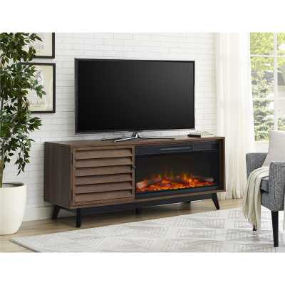 Dover TV Stand for TVs up to 70 inches with Fireplace Included - Wayfair