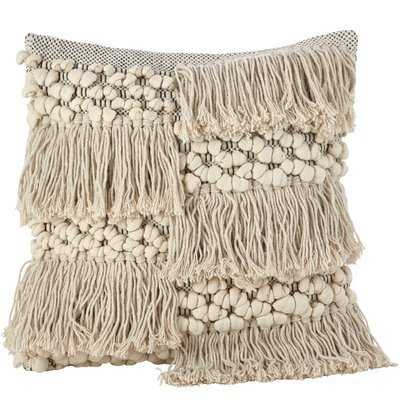 Hartwell Moroccan Cotton Throw Pillow - Wayfair