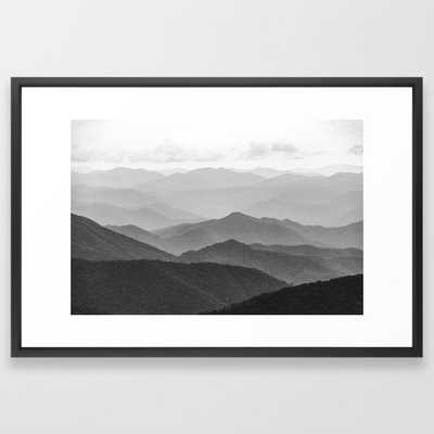 Forest Fade - Vector Black - Society6