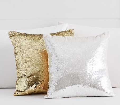 Sequin Decorative Pillow - Pottery Barn Kids