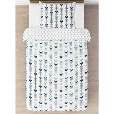 Mod Arrow Reversible Comforter Set - Wayfair