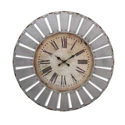 Dees Iron Clock - Mercer Collection