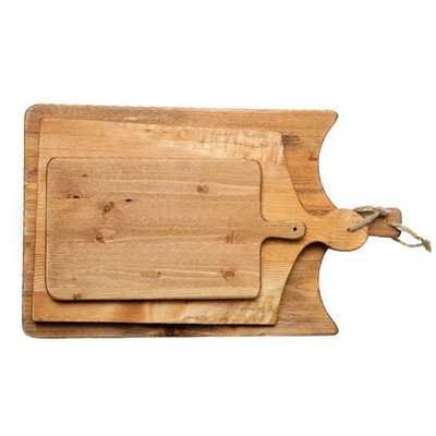 FRENCH CUTTING BOARDS (SET OF 3) - McGee & Co.