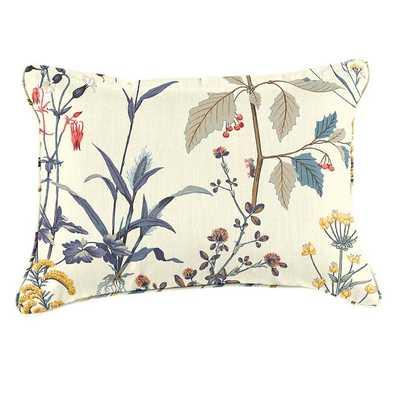 Custom Pillow Cover - 12X20 - Isabella Blue - Ballard Designs