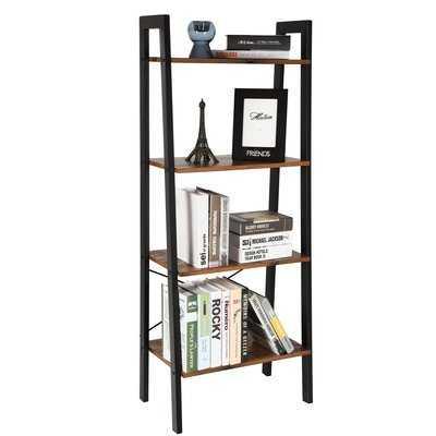 Parikh 4-Tier Ladder Bookcase - Wayfair