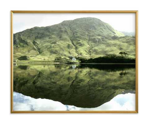Green Reflections Connemara Ireland - Minted