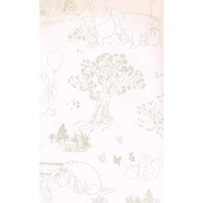 "Scenic Prepasted 27' L x 27"" W Wallpaper Roll - Wayfair"
