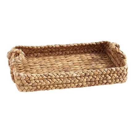 Water Hyacinth Tray - Pottery Barn