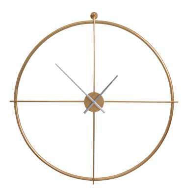 "Oversized Mcclain 38"" Wall Clock - AllModern"