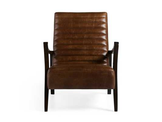 Pryor Leather Chair - Arhaus