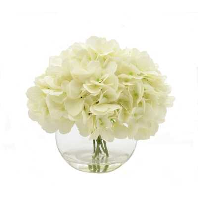 White Hydrangea Floral Arrangements - Wayfair