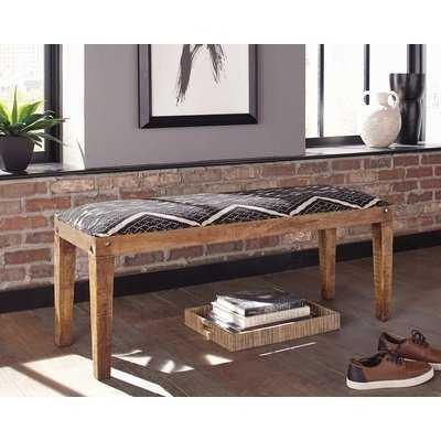 Nil Upholstered Bench - Wayfair