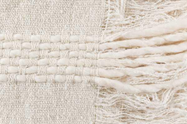 Brooklynn Cotton White Throw - Maren Home