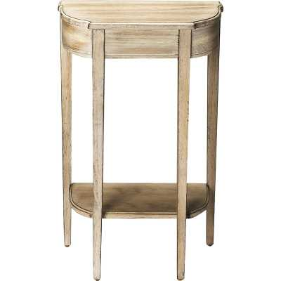 Corinne Console Table, Driftwood - Wayfair