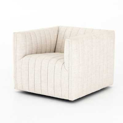 Augustine Swivel Chair in Various Colors - Burke Decor