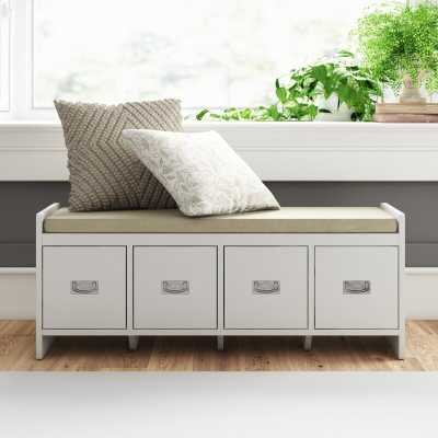 Whittenburg Upholstered Storage Bench - Wayfair