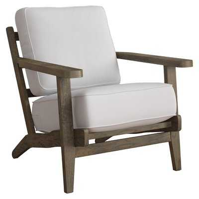 CLORA ARMCHAIR (Taupe, Antique) - Birch Lane