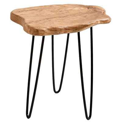 Cedar Wood End Table - Wayfair