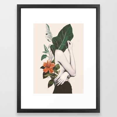 natural beauty-collage 2 Framed Art Print - Society6