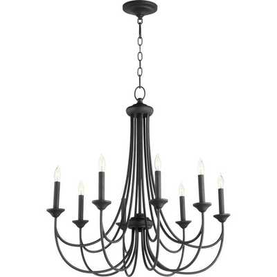 TRANSITIONAL COLONIAL CHANDELIER - SMALL - Shades of Light