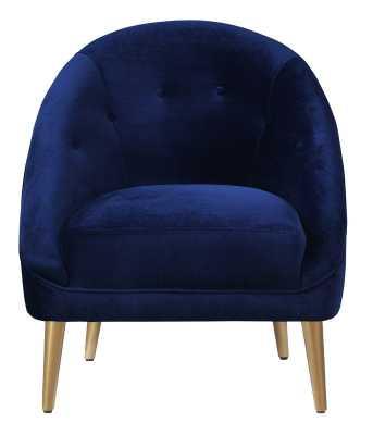 Barrel Chair - navy - AllModern