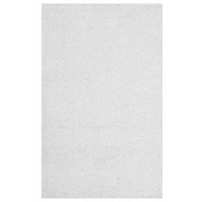 ENYSSA SOLID 8X10 SHAG AREA RUG IN IVORY WHITE - Modway Furniture