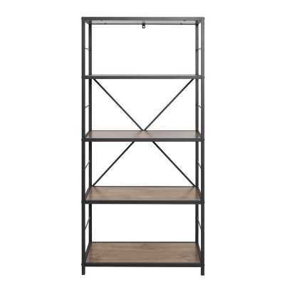 63'' H x 30'' W Metal Etagere Bookcase - Wayfair