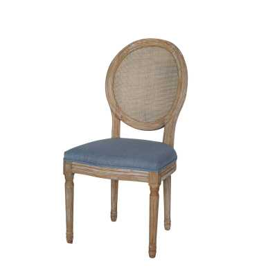 Evelina Solid Wood Dining Chair (Set of 2) - Birch Lane