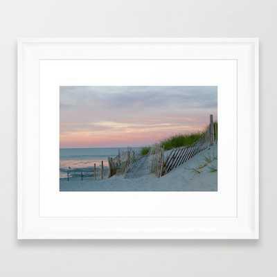 Sunset on Cape Cod Framed Art Print - Society6