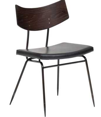 Soli Dining Chair, Black - High Fashion Home