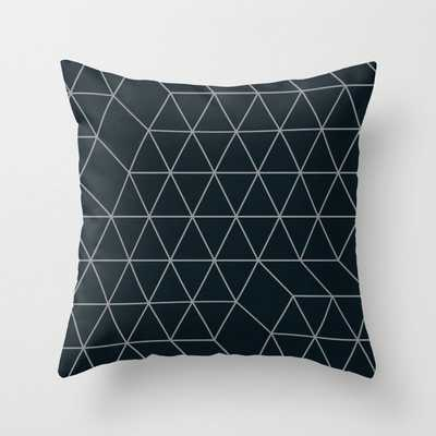 Cityscape Geo 2 Throw Pillow - Society6