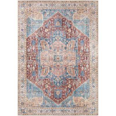 "Kenley Rug, 7'10"" x 10'2"", Burnt Orange - Roam Common"