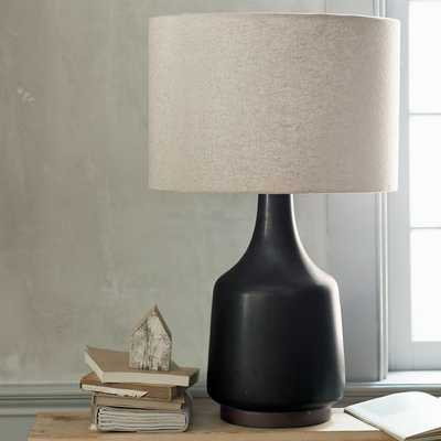 Morten Table Lamp, Black - West Elm