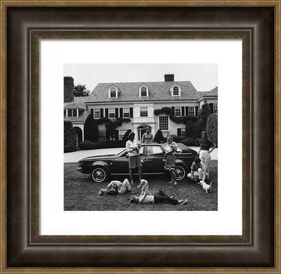 Chapin Family Framed Print Slim Aarons by Slim Aarons - Photos.com by Getty Images