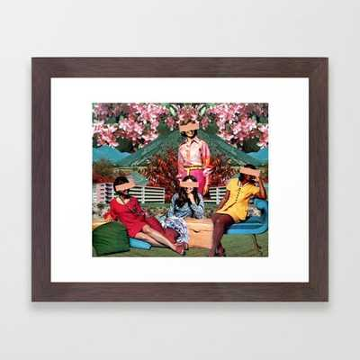 Ladies Holiday Framed Art Print - Society6