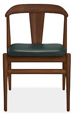 Evan Chair with Leather Seat - Room & Board