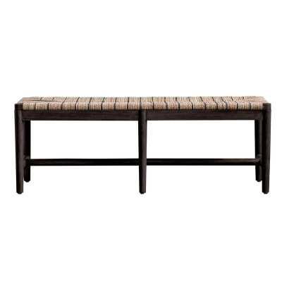 Chloris Wood Bench - Wayfair