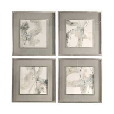 'Divination' 4 Piece Framed Print Set - Hudsonhill Foundry