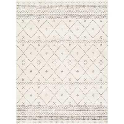 Warlick Soutwestern White/Medium Gray Area Rug - Wayfair