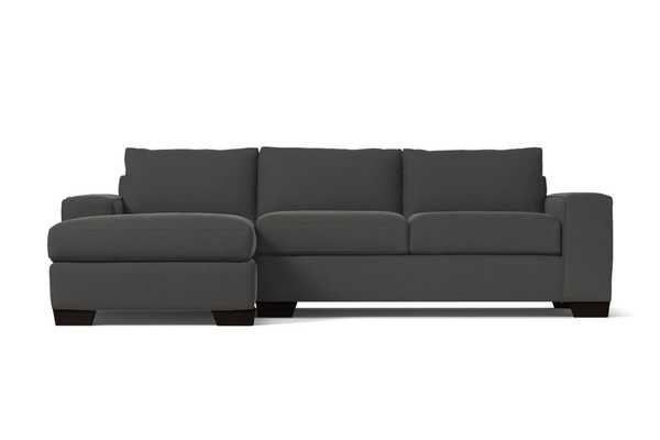 Melrose 2pc Sectional Sofa - Silver / LAF- Chaise on the Left - Apt2B