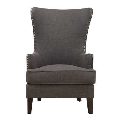 Wingback Chair - Charcoal - Wayfair