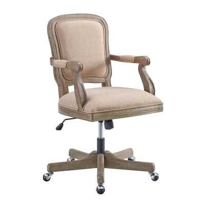Akron Task Chair / Beige/Gray Wash - Wayfair