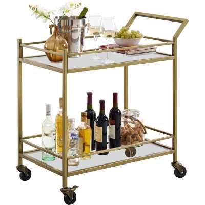 Chesterfield Bar Cart - Wayfair