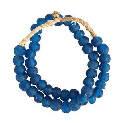 VENICE BLUE SEA GLASS BEADS - McGee & Co.