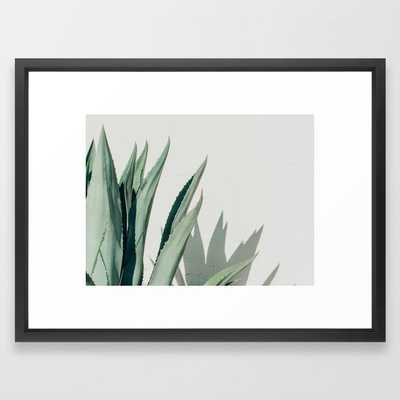 Agave, Marfa, West Texas Framed Art Print - Society6