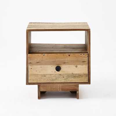 Emmerson® Reclaimed Wood Nightstand - Natural - West Elm