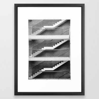 Stairs III Framed Art Print, 20x26 - Society6