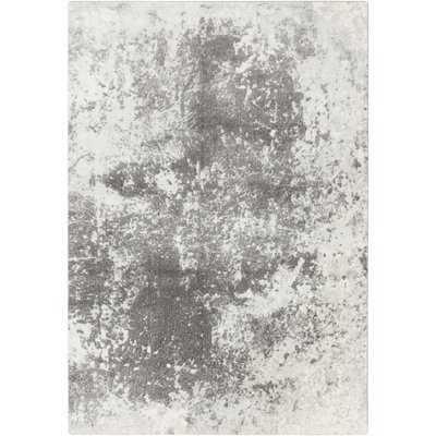 Carvell Modern Medium Gray/Charcoal Area Rug - Wayfair